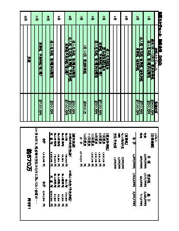 納税予定表
