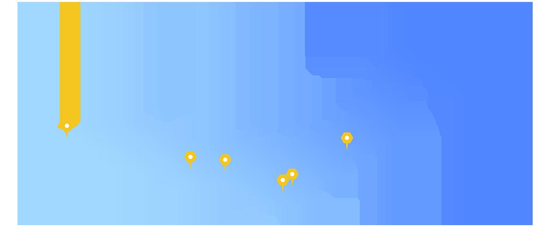 全国13拠点各事務所へのアクセス